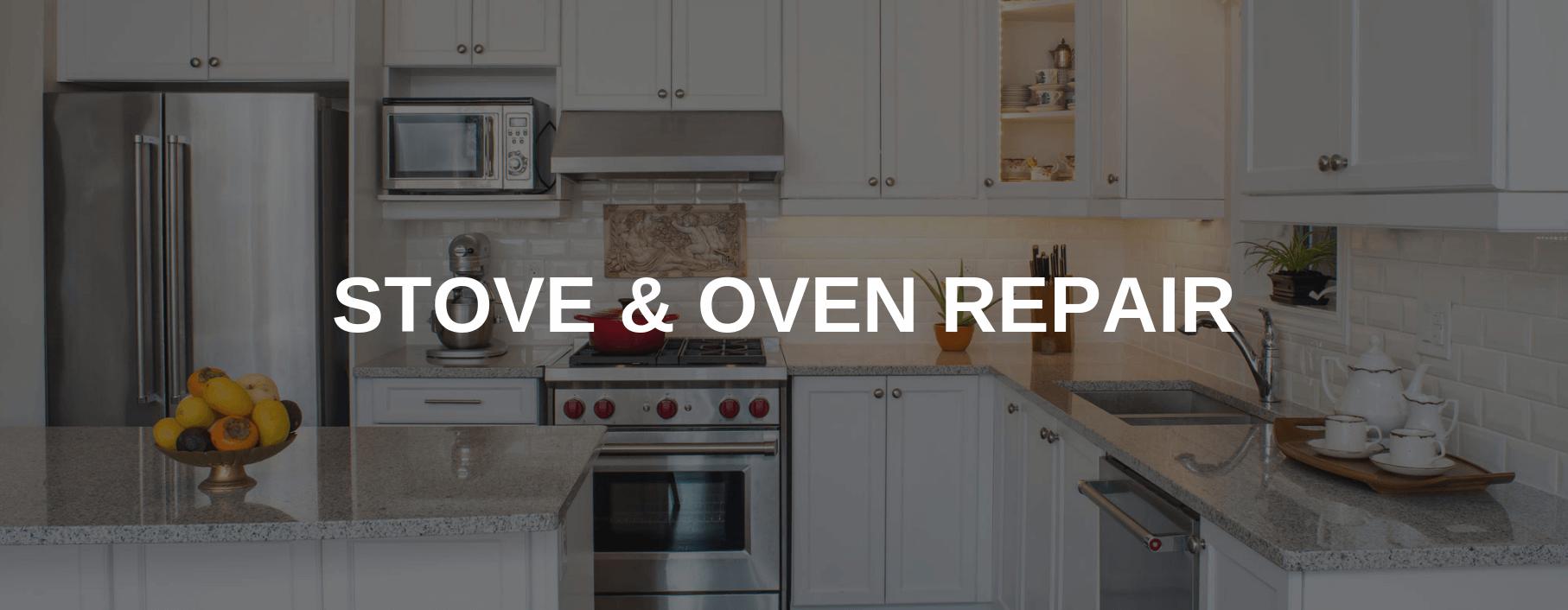 stove repair pride